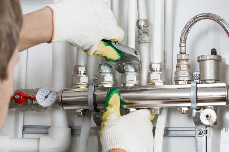 Plumbing service and repair for healthcare facilities