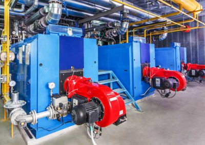 Commercial boilers and heat exchangers