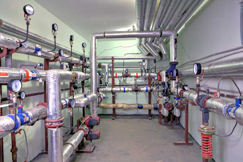Commercial plumbing systems