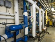 Capital Regional Medical Center Steam Water Heater Project