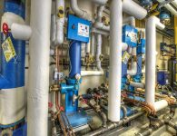 Capital Regional Medical Center Steam Water Heater Project 3
