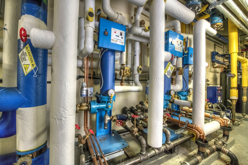 Capital Regional Medical Center Steam Water Heater